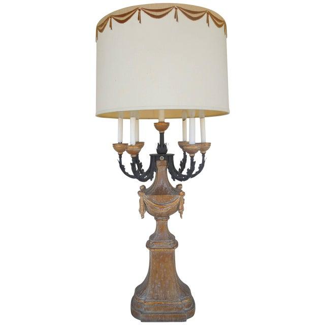 1950s Marbro Regency Candelabra Lamp For Sale