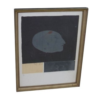 """French Lithograph Signed """"Wwredroth 76/720"""""""