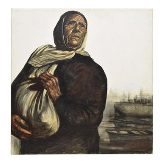 """The Refugee"" Oil Painting For Sale"