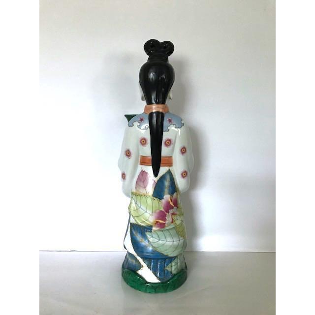 Gump's of San Francisco Vintage Oriental Candle Holder - Image 2 of 5