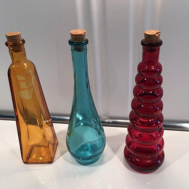 Vintage Glass Bottles - Set of 3 - Image 3 of 5