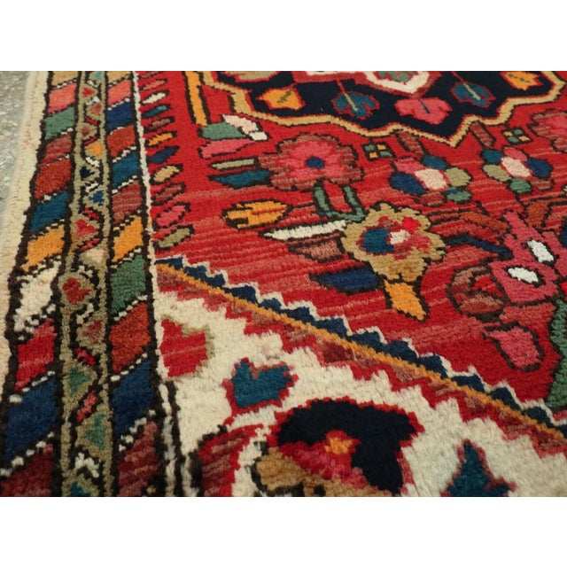 """Vintage Persian Hamadan Rug – Size: 2' 5"""" X 4' 1"""" For Sale In New York - Image 6 of 9"""