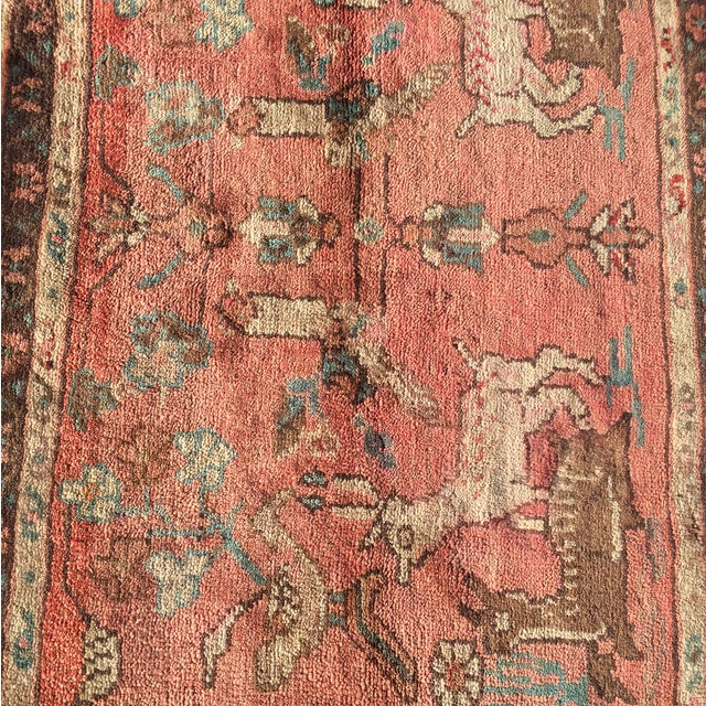 Hamadan Persian Rug - 2' x 4' - Image 4 of 7
