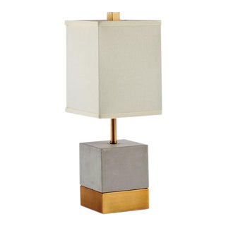 Kenneth Ludwig Chicago Serena Concrete Lamp For Sale