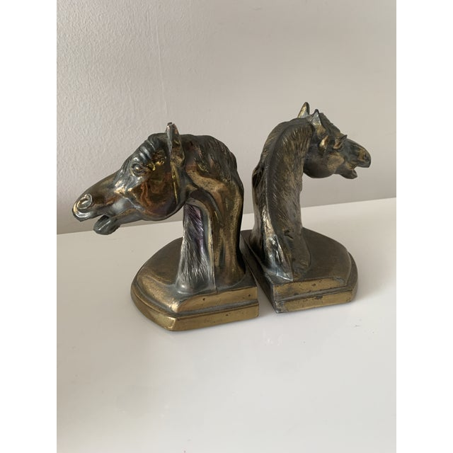 Vintage Equestrian Horse Bookends- a Pair For Sale - Image 10 of 10