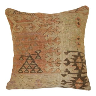 Turkish Handmade Kilim Pillow For Sale