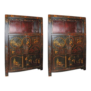 19th Century Chinese Scholars Cabinets - A Pair