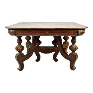 Antique Victorian Dining Table For Sale