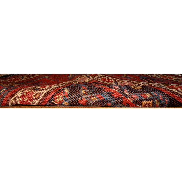 Hand Made Antique Persian Kurdish Runner - 3.4' X 12.3' For Sale In New York - Image 6 of 6