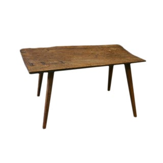 French Rustic Wooden Cocktail Table