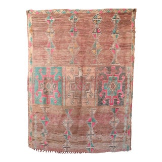 1970s Moroccan Vintage Rug For Sale