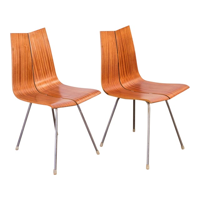 Hans Bellmann GA Molded Dining Chairs - a Pair For Sale