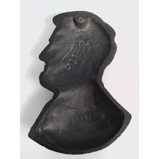 Presidents Cast Iron Wall Decor - A Pair - Image 5 of 6
