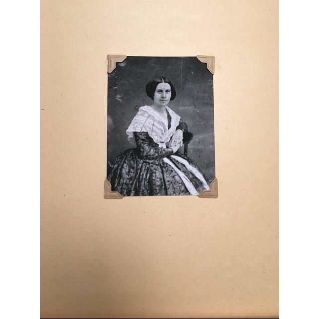 Vintage Framed Daguerreotype Prints - Set of 3 - Image 3 of 7