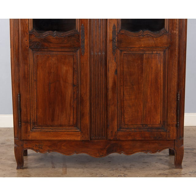 French Walnut Armoire Transition Period, 1800s - Image 3 of 10
