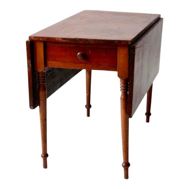Antique Drop Leaf Table >> Antique Drop Leaf Console Table