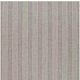 Fawkes Woolen Stripe CL Walnut Fabric by Ralph Lauren For Sale