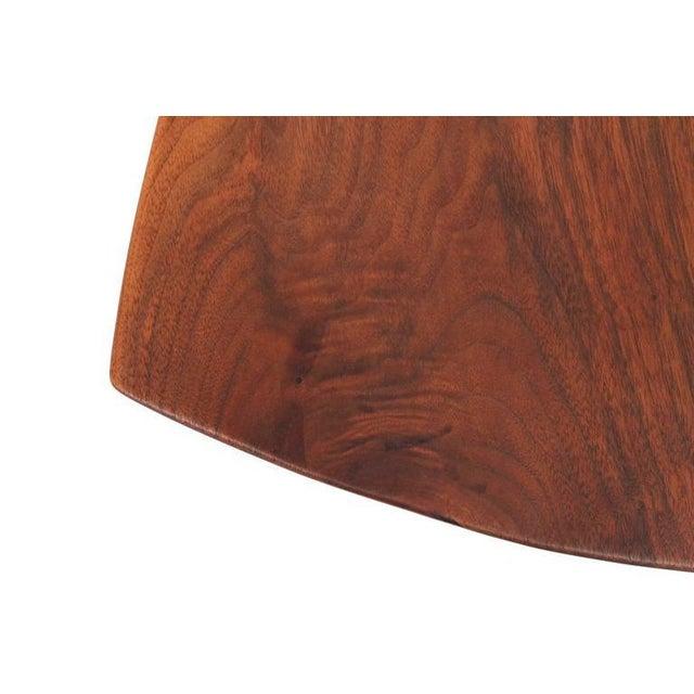 Walnut Sculptural Walnut Cutting Board by Dirk Rosse For Sale - Image 7 of 11