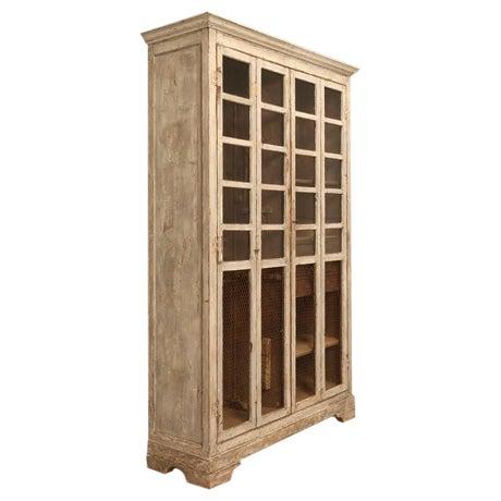 Original Paint Italian Boatyard Cabinet For Sale