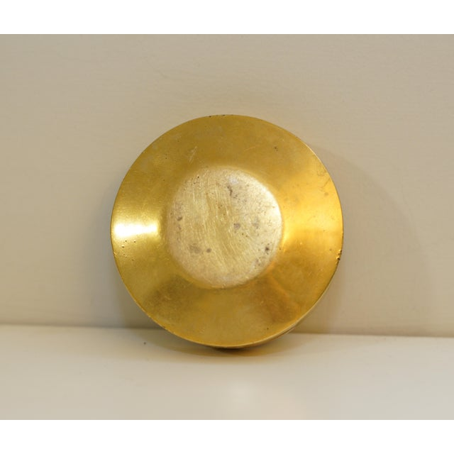 Vintage Aspirin Brass Pill Box For Sale - Image 4 of 5