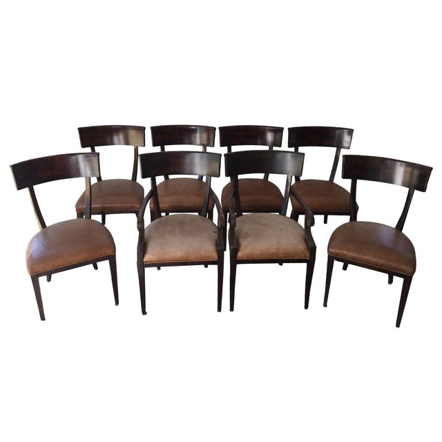 Baker Milling Road Empire Chairs - Set of 8 For Sale