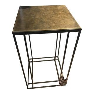 Loft Binate Minimal Art Deco Occasional Table For Sale