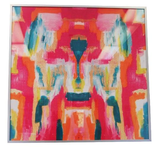 """Blush Label Framed """"Bombay"""" Scarf - Image 1 of 3"""