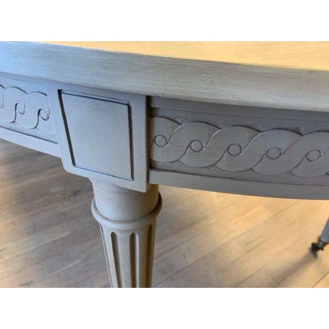 Greige Baker Furniture Starburst Dining Table For Sale - Image 8 of 13