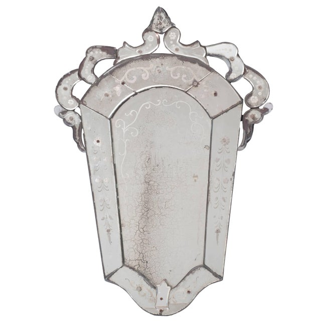 1950s Venetian Mirror For Sale - Image 5 of 5