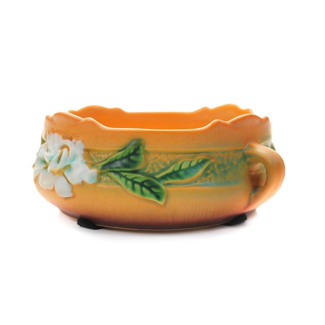 Roseville Pottery Antique Roseville Pottery Bowl For Sale - Image 4 of 10