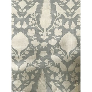 Transitional Schumacher Chenonceau Linen Fabric - 4.5 Yards For Sale