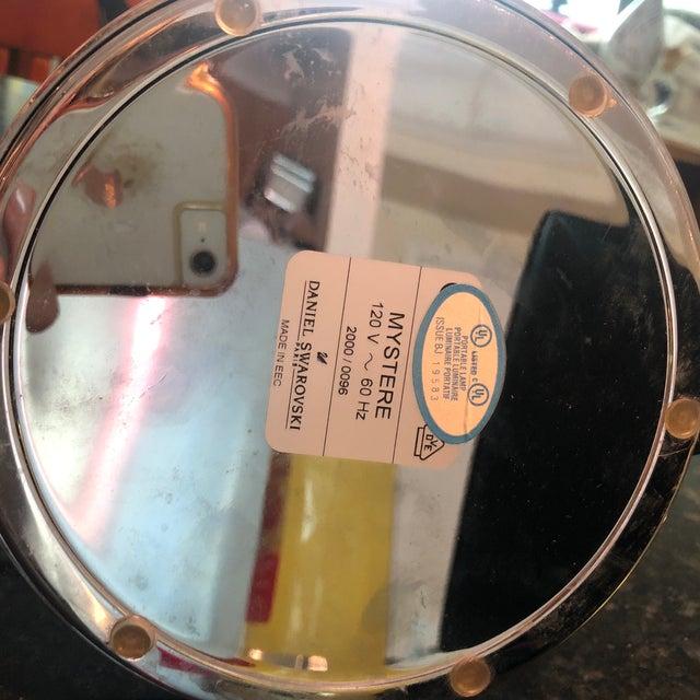 Metal Swarovski Desk Lamp For Sale - Image 7 of 8