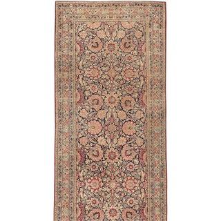 Antique Persian Kerman Runner Rug - 4′8″ × 15′4″ For Sale
