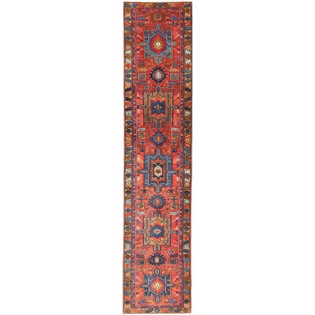 Antique Karadjeh Runner Rug - 2′10″ × 13′ For Sale