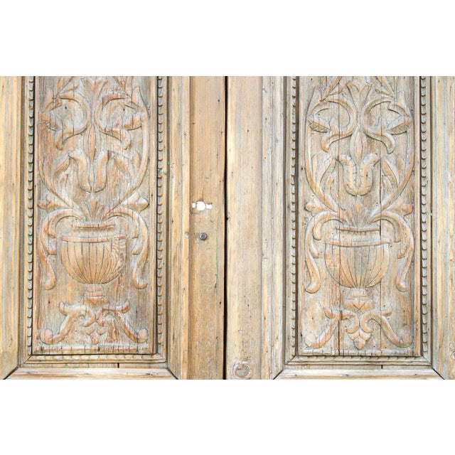 Grand Antique Indo French Doors For Sale - Image 4 of 8