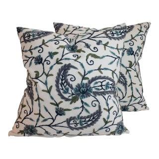 Crewelwork Pillows
