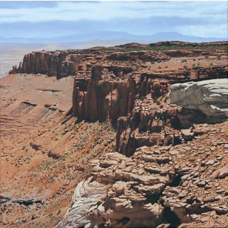 """Garrett Middaugh """"Canyonlands #2"""" Oil Painting For Sale"""