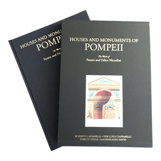 Houses and Monuments of Pompeii: The Work of Fausto and Felice Niccolini For Sale