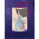 """Image of Michael David """"Blue From the Being Series"""" Lithograph For Sale"""