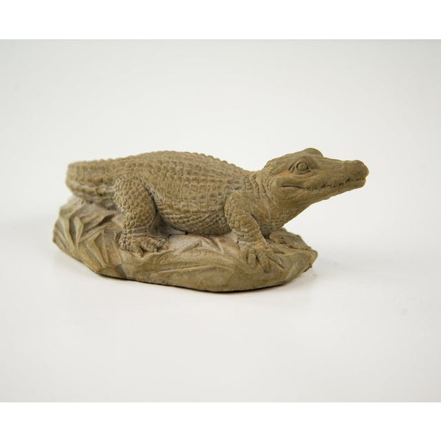 Frostino Giannelli Plaster Crocodile For Sale - Image 4 of 7