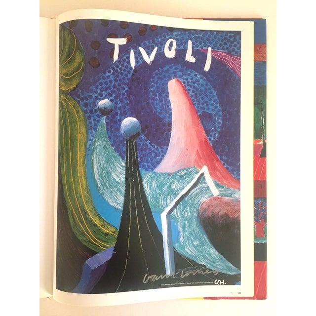 """David Hockney Poster Art"" 1st Edition Vintage 1995 Collector's Art Book - Image 8 of 11"