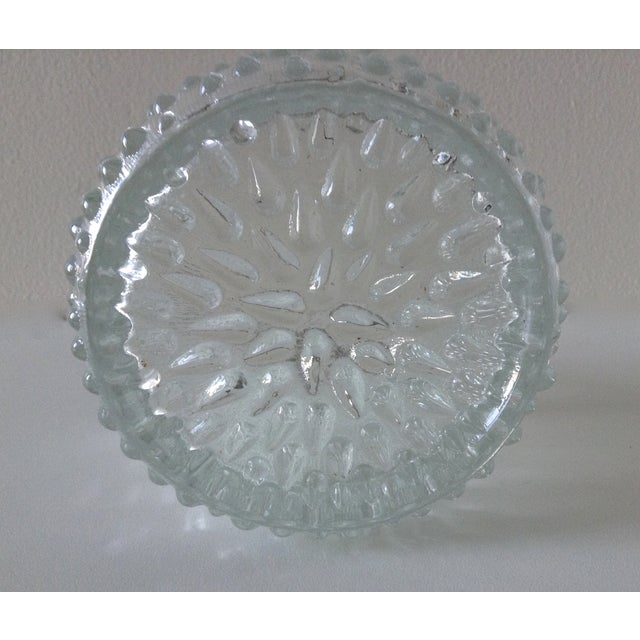 Mid-Century French Glass Teardrop Ice Bucket For Sale In West Palm - Image 6 of 6