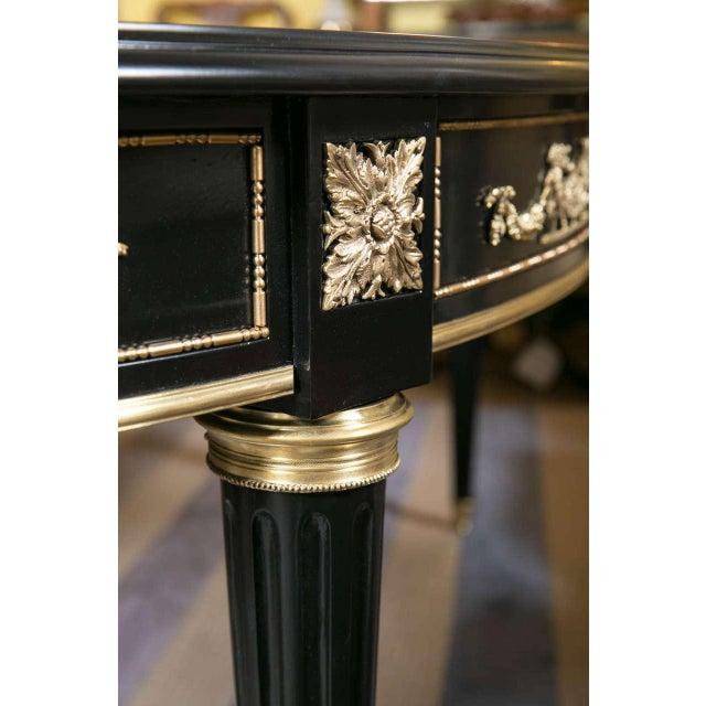 Maison Jansen Bronze-Mounted Dining Table - Image 6 of 8