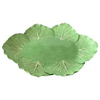 Dodie Thayer Cabbage Form Platter