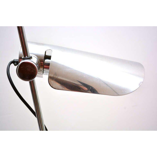 Mid-Century Modern Counterbalance Desk Lamp Attributed to Gae Aulenti For Sale - Image 9 of 10