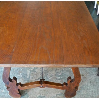 19th Century Spanish Farmhouse Stained Dining Table Preview