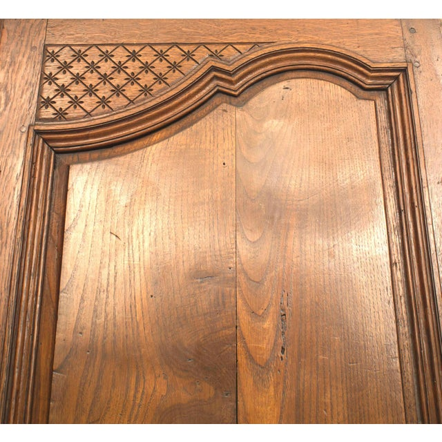 Louis XVI Pair of 18th Century French Provincial Walnut Doors For Sale - Image 3 of 6