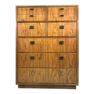 Mid Century Drexel Consensus Tall Dresser Circa 1960s/1970s For Sale