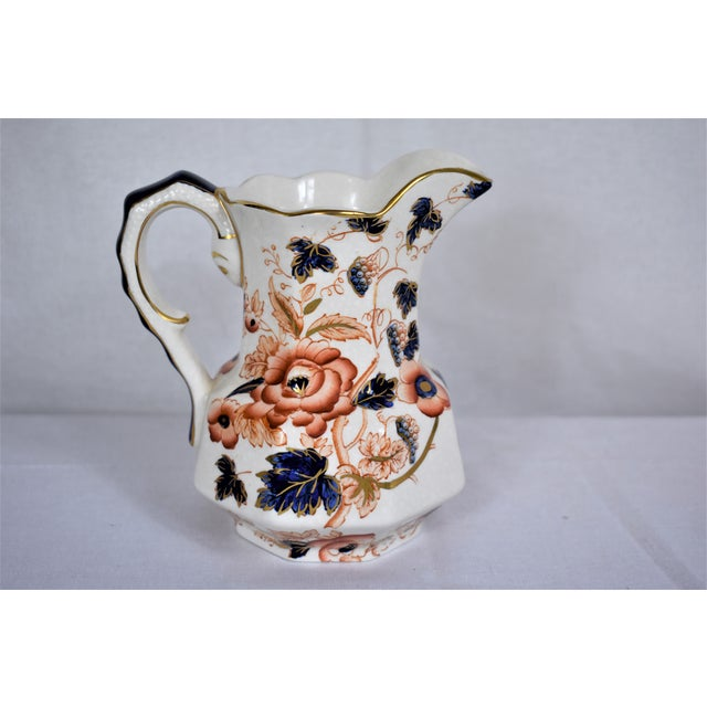 Vintage Enoch Wedgwood Pitcher For Sale - Image 10 of 10