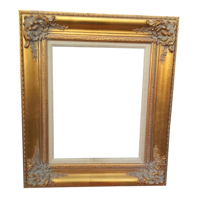 54224474a9d1 Large Golden Gilded Wood Italian Baroque Picture Mirror Frame 16